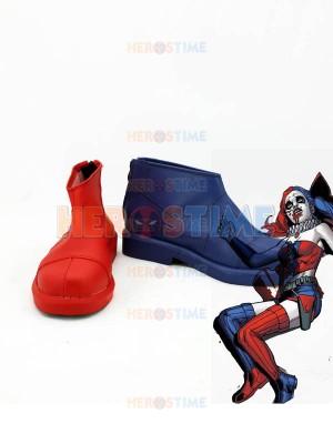 Suicide Squad Botas de Harley Quinn para Cosplay