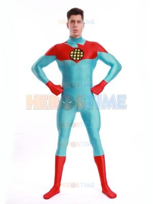 Capitán Planeta y los Planetarios  Traje de Spandex de Capitán Planeta Cosplay