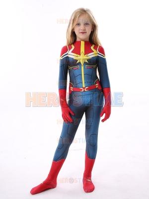 Disfraz de Capitán Marvel para niños Disfraz de Halloween para niños