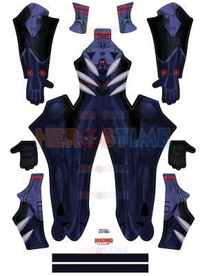 Disfraz Cosplay Kaworu Plugsuit Evangelion