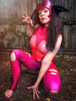 She-Ra, la Princesa del Poder  Disfraz de Catra con Cola para Halloween