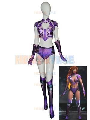 Disfraz de Starfire de Teen Titans de Halloween para Adultos y Niños
