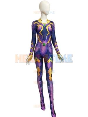 Disfraz de superhéroe Starfire Disfraz de Halloween para niños y adultos