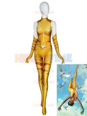Disfraz de Superhéroe de Vixen de DC Comics Cosplay