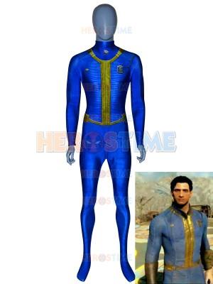 Fallout 4  Disfraz de Spandex de Sole Survivor Impreso Cosplay