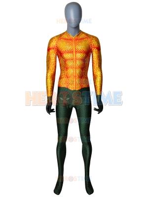 Último Traje de Aquaman de Cosplay sin Máscara