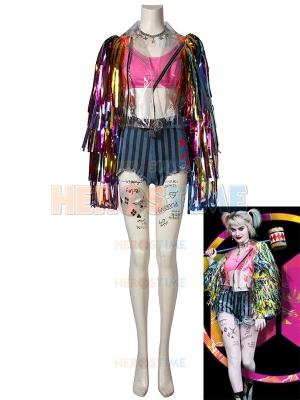 Aves de Presa Disfraz de Harley Quinn Cosplay Conjunto Completo