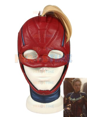 Vengadores: Endgame Casco de Capitana Marvel Cosplay