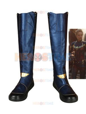 Vengadores: Endgame Botas de Capitana Marvel Cosplay