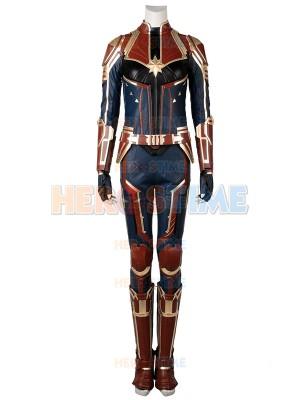 Captain Marvel Suit Captain Marvel Film Disfraz de Halloween Set completo