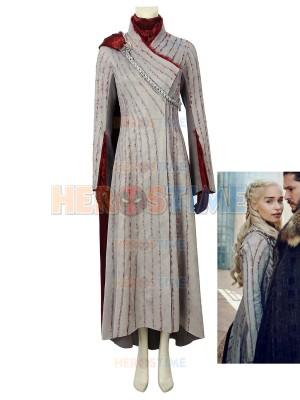 Juego de Tronos 8  Disfraz de Daenerys Targaryen / Mother of Dragons Cosplay