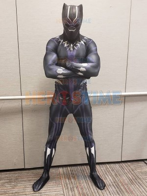 Black Panther 2018 Traje de Kinetic Sin máscara