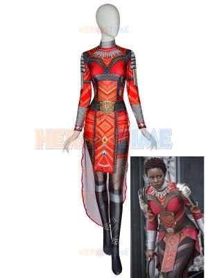 Disfraz de pantera negra Disfraz de mujer guerrera Disfraz de Halloween
