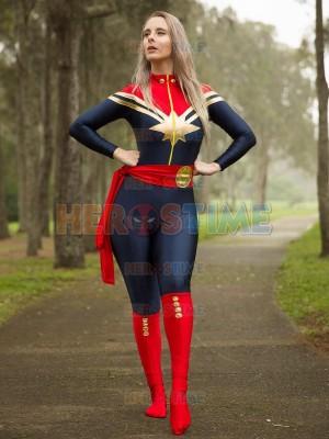 Traje de Superheroína MsMarvel (Carol Danvers)