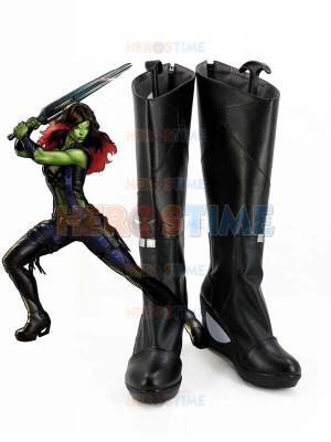 Guardianes de la galaxia Botas de Gamora Cosplay