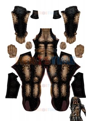 Traje básico de licra Predator SIN máscara Sin armadura