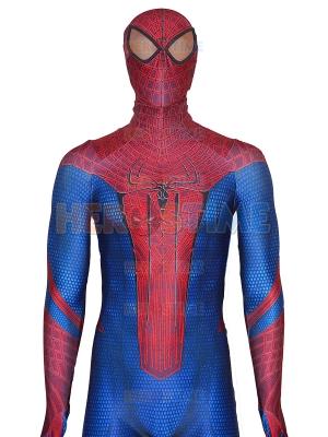 El asombroso disfraz de Spider-Man con pintura Puff
