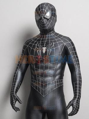 Disfraz de Spider-Man 3 Venom Venom Raimi Spider con pintura de hojaldre