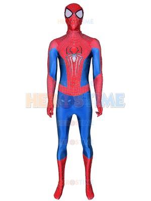 El increíble disfraz de Spider-Man 2 con tela de hojaldre y araña