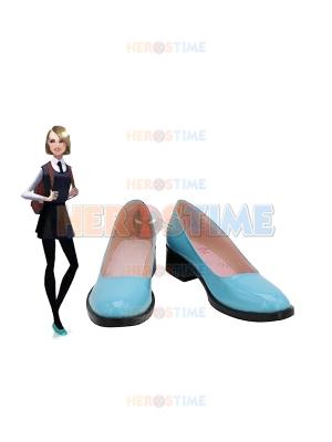 Spider-Man Into the Spider-Verse Zapatos de cosplay de Gwen Stacy