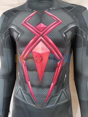 PS4 Marvel's Spider-Man Dark Suit Spiderman Traje de superhéroe
