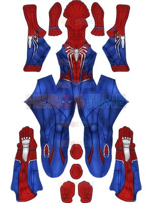 PS5 Spider-Man 2 Traje de Peter Parker Traje avanzado de Spider-Man