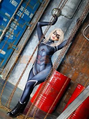 Traje de Black Cat de la versión de Spider-man: The Heist