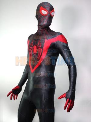 Traje de cosplay de Spider-Man Miles Morales PS5