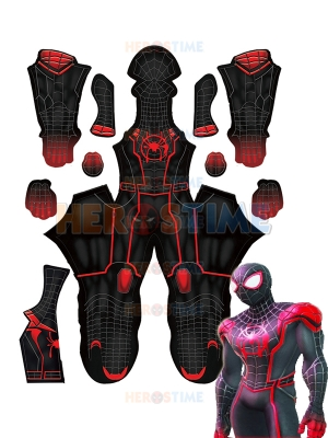 Marvel Strike Force Miles Morales Disfraz de Cosplay