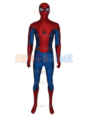 Disfraz de Spider-man de regreso a casa en tela de colores Leather Spider