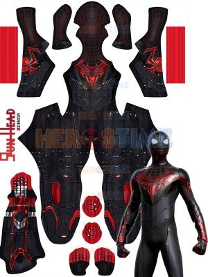Disfraz de PS5 Spider-Man Miles Morales Advanced Tech para adultos y niños
