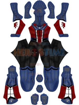Disfraz de Capitán Spider Homecoming Disfraz de Spider-Man personalizado