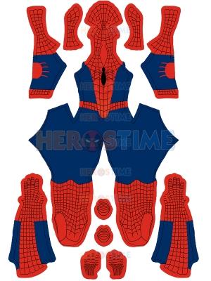 Traje de Spider-Man japonés Marvel Comics Traje de Spider-Man