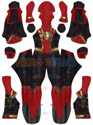 Disfraz integrado de Spider-Man No Way Home Versión actualizada