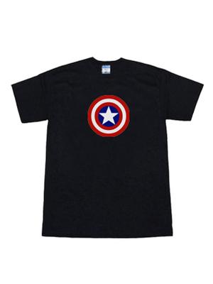 Camiseta de Escudo de Captain America