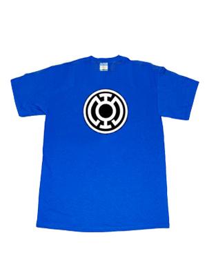 Camiseta de Blue Lantern de DC Comics