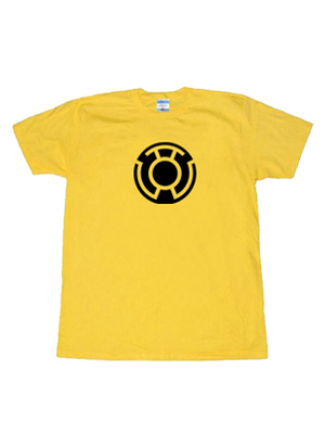 Camiseta de Símbolo de Sinestro Corps de DC Comics
