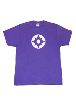 Camiseta de Símbolo de Violet Lantern de Lantern Corps