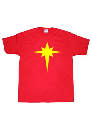 Camiseta de Símbolo de Capitán-Marvel (Mar-Vell)