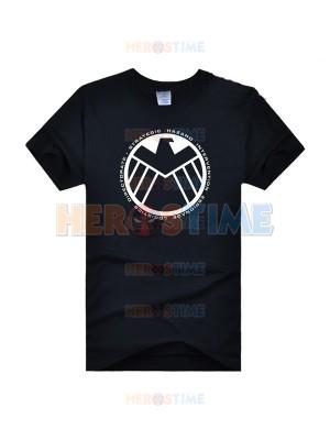 Camiseta de Superhéroe de Símbolo de S.H.I.E.L.D