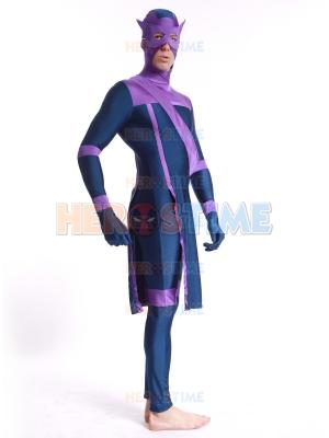 Disfraz de spandex Hawkeye Marvel Future Fight