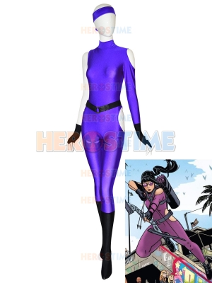 Kate Bishop Traje Lucha Hawkeye Marvel Avengers Futuro joven de Halloween cosplay cosutme