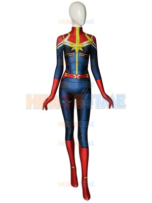 Disfraz de Ms.Marvel /Capitana Marvel Cosplay