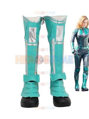 Avengers Endgame Cosplay Capitán Marvel Botas