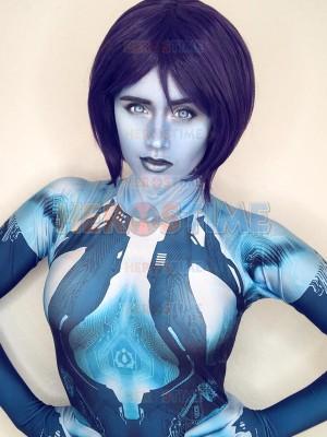 Halo  Traje de Cortana de Halo Cosplay