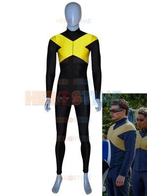 X-Men: Dark Phoenix  Disfraz de Cyclops de Spandex para Hombres
