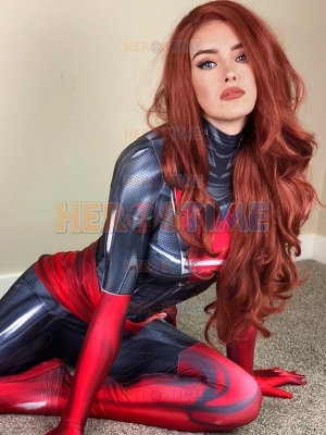 Dark Phoenix Suit Phoenix Resurrection Jean Grey Disfraz de Cosplay