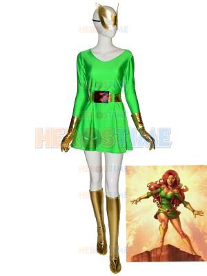 Original Marvel Girl Jean Grey Disfraz de superhéroe de Halloween