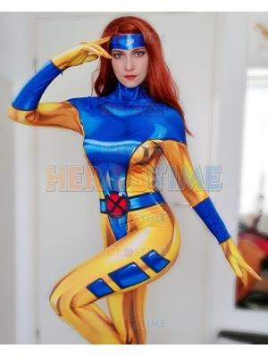 Phoenix Costume 90's X-Men Jean Grey Traje de Cosplay
