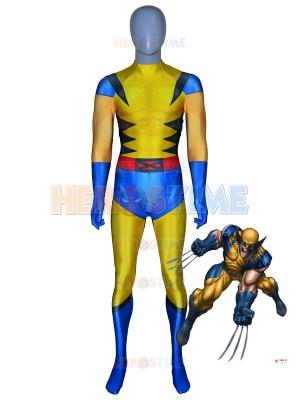 X-men Disfraz de Wolverine Cosplay Disfraz de superhéroe de Halloween